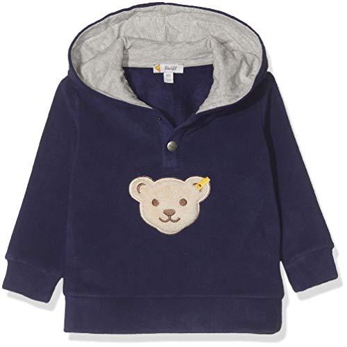Steiff Baby - Jungen Sweatshirt , Blau (PATRIOT BLUE 6033) , 86 (Herstellergröße:86)