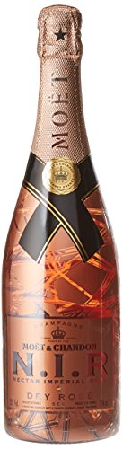 Moët & Chandon Luminous Edizione N.I.R. Nectar Imperial Dry Rose Champagne - 0.75 l