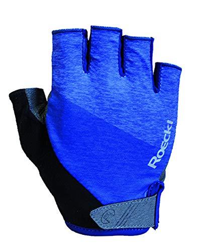Roeckl Bergen Fahrrad Handschuhe kurz blau 2020: Größe: 7.5