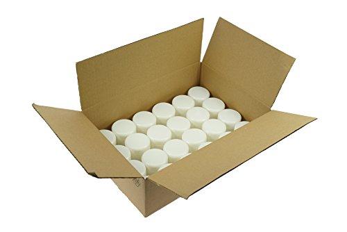 Fantasia cosmétiques boîte plastique pour Blanc 50 ml, 1er Pack (1 x 24 pièces)