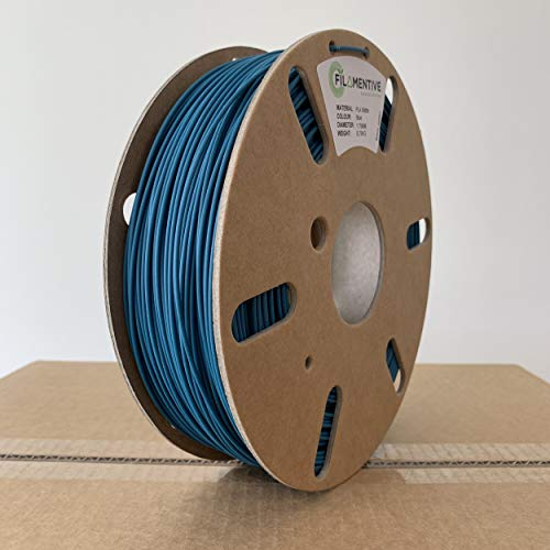 Filamentive PLA Matte 2.85mm Blue 3D Printer Filament, Dimensional Accuracy  +/- 0.05mm
