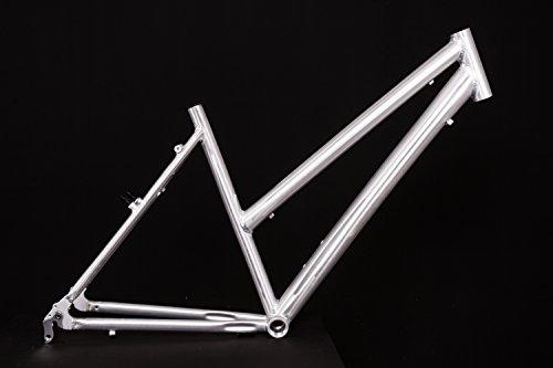 "MIFA 28"" Zoll Alu Fahrrad Rahmen Damen Trekking City Bike Ketten Schaltung Rh 50cm roh unlackiert A-Head 1 1/8Zoll"