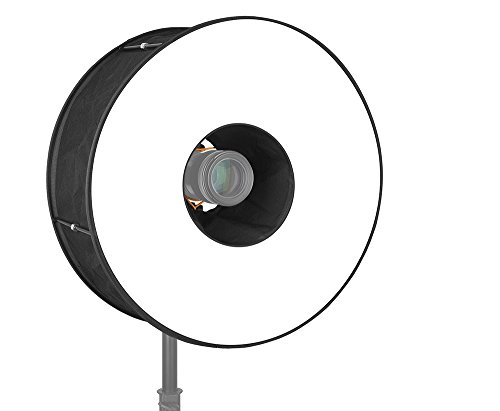 Roundflash 45cm Ringblitz Diffuser Softbox für Speedlite DSLR Systemblitze