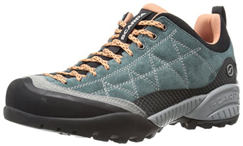 SCARPA Women's Zen PRO WMN Hiking Shoe-W, Nile Blue/Salmon, 38 EU/7 M US