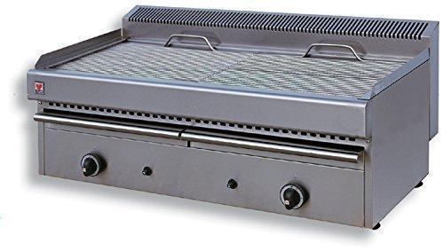North Pro V20Gas Grill 18kW mit Wasser Schublade–LxBxH: 1000x 510x 430(Made in Griechenland)