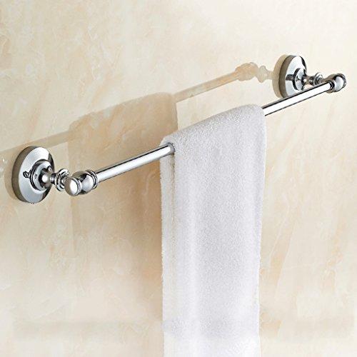 LDGGJ Vrijstaande badkamer handdoekenrek stand rails Alle soorten Koper Handdoek Bar Enkele Paal Metalen Hanger Handdoek Rack Europese Antieke Toilet Planken 6666