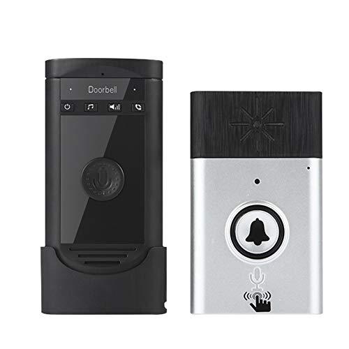 ILS - drahtloses Sprechen Intercom Türklingel Akku Mobile 200M Outdoor Sender mit Indoor-Empfänger