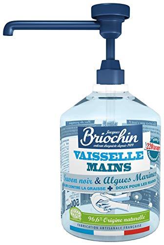 Jacques Briochin - Vajilla con jabón negro con perfume de alga marina, 500 ml