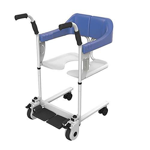 Personas mayores Desmontables Silla de ruedas transporte, Levantador transferencia de cuerpo completo para discapacitado Paciente anciano Discapacidad,Transporte portátil Ascensor Cómoda para hospital