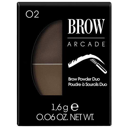 Vivienne Sabo - Brow Powder Duo Brow Arcade, Farbe:Braun, Typ:light brown
