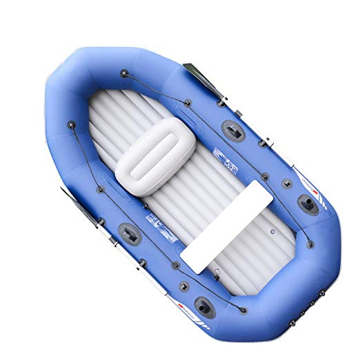 WyaengHai Gommone Durevole Barca d'assalto con Fondo Spesso Che trasporta Comodo gommone Barca da Pesca con Fondo Rigido Barca da Pesca antigelo Impermeabile Barca alla deriva Pesca Kayak