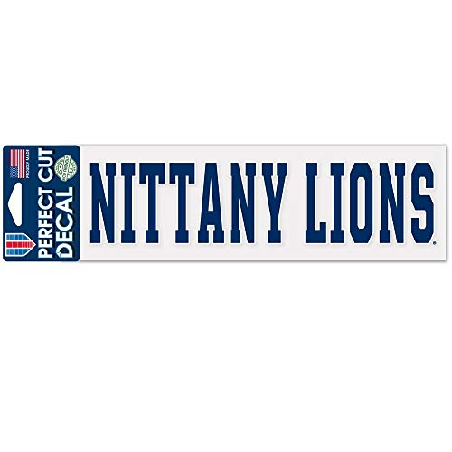 Wincraft NCAA Penn State University WCR35574014 Perfect Cut Decals 3 x 10