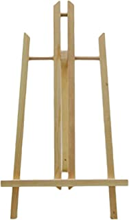 TOYANDONA 1 Pack Painting Easel Display Stand Tabletop Photo Stand Natural Wood Photo Easel for Kids Students Artist Paint...
