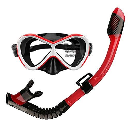 MHSHKS Schnorchel Set Diving Mask Anti...