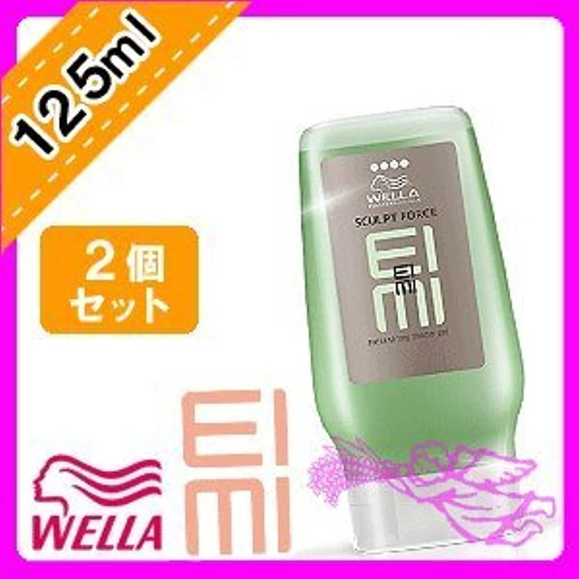 聴覚でるテレビウエラ EIMI(アイミィ) スカルプトフォースジェル 125ml ×2個 セット WELLA P&G