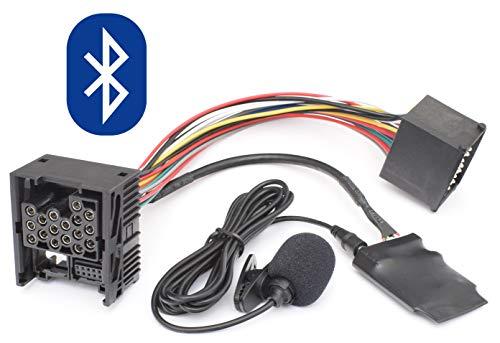 Bluetooth Freisprecheinrichtung Musik Adapter geeignet für BMW E46 E39 E38 Rundpin 17pin Old Generation Radio