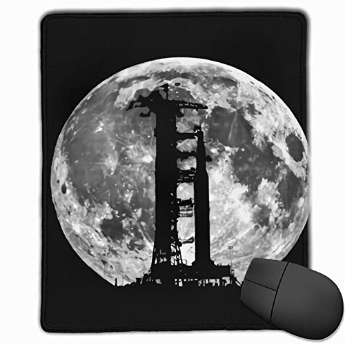 Saturn V Rocket 11 Washable Printed Stylish Office Gaming Gaming Mouse Pad
