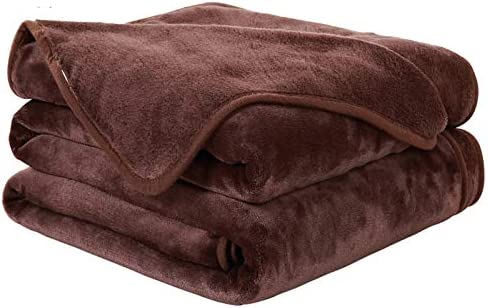 EASELAND Soft King Size Blanket All Season Warm Microplush Lightweight Thermal Fleece Blankets product image