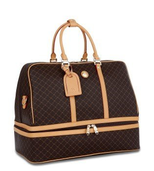 Signature Duffle Dome Traveler by Rioni Designer Handbags & Luggage