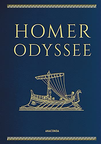 Homer, Odyssee (Cabra-Lederausgabe) (Cabra-Leder-Reihe, Band 4)