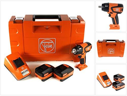 Fein 71150661000 ASCD18-300W2/N00 Akku Schlagschrauber, 18 V, 14 V, Schwarz, Orange
