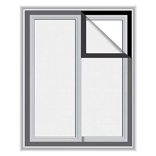 DUCHEN Red de seguridad para gatos con protección para ventanas de gatos, malla de seguridad autoadhesiva para ventanas, mosquiteras, cortable, 120 x 150 cm