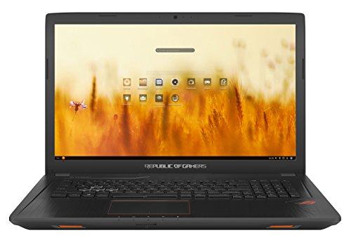 ASUS GL753VD-GC011 - Ordenador Portátil de 17.3' (Intel Core i7-7700HQ , 8 GB RAM, 1 TB HDD, Nvidia GeForce GTX 1050), Metal Negro