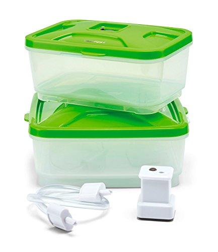 Tefal Vacupack Canister XA258010 - Kit Conservación para envasado al vacío de plástico...