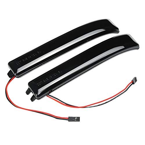 XIAOYAFANG Hxfang 1 par for Ford F150 Raptor Espejo retrovisor Girar Flujo de señal de la luz Pilota luz Diurna Espejo Vuelta del Lado de la luz de señal Dyna Hot Now (Color : Dynamic Flow)