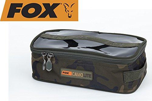 Fox Accessory Bag Large - Camolite Tasche, Angeltasche, Anglertasche, Karpfentasche, Tackletasche, Tasche für Angelzubehör