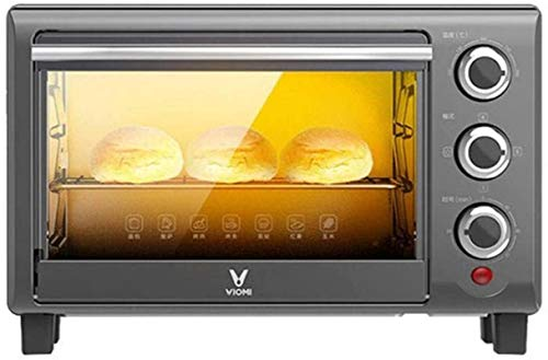 16L Mini horno Temperatura ajustable y temporizador de 60 minutos Hornos eléctricos de tres capas Hornear pan-16L