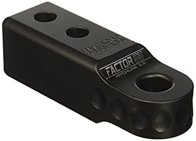 Factor 55 00020-04 HitchLink 2.0 Reciever Shackle Mount 2 Inch Receivers Black