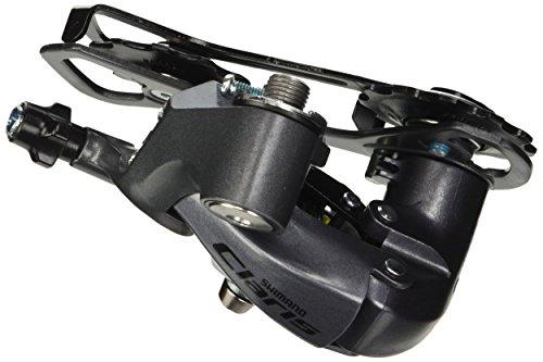 SHIMANO Claris RD-2400 Schaltwerk 8-Fach Ausführung mittellanger Käfig 2014 Rennrad Schaltwerk Silber Silber M