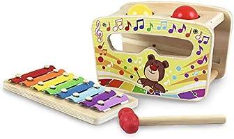 Trefl Gram w Bim Bam Zabawka Drewniana dla Dzieci od 18 miesiąca życia
