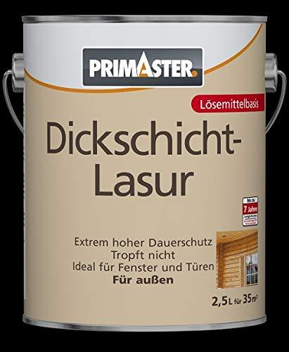 Primaster Dickschichtlasur SF1318 Holzlasur Holzfarbe Wandfarbe Außenlasur Lasur