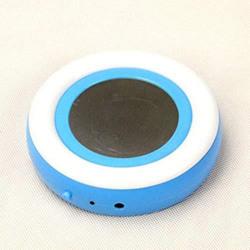 LYA Automatische thermostaat trein, USB verwarming Coaster Temperatuurgestuurde verwarming Achtbaan Koffiethee Cup Coaster Geschikt voor kantoor/woonkamer