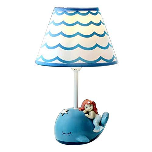 Lampe De Table Lampe De Table Pour Enfants Lampe De Table LED De Chevet De Chambre À Coucher Lampe De Table D'étude Mignonne Lampe De Table De Dessin Animé Garçon Et Fille A+ (Size : 19x19x32cm)