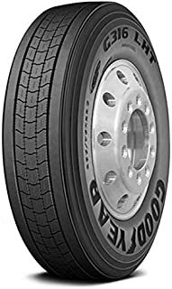 Goodyear G316 LHT Fuel Max Commercial Truck Radial Tire-11/R22.5 144M