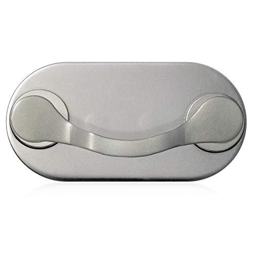 MAG-B magnetischer Brillenhalter (Edelstahl poliert)