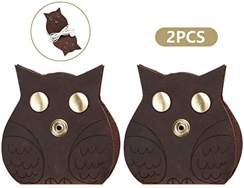 Earbud Holder Earphone Cord Organizer Storage Owl Winder Set of 2 product image