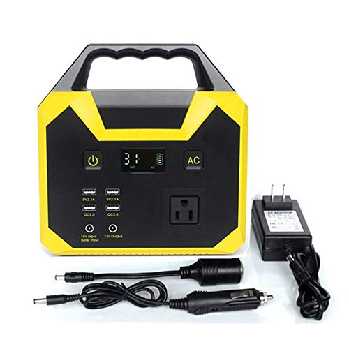 40800mAH Backup Lithiu Battery,220V/110Voutput Pure Sine Wave AC Outlet,Solar Generator(Solar Panel Not Included) LED lithium battery100W- 200W for Outdoors CampingTravel Emergency
