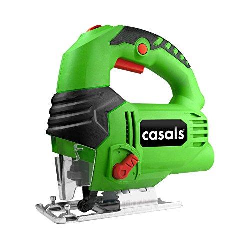 Casals C05111000 Sierra de calar W, 230 V, Negro, Verde, 650 Watios