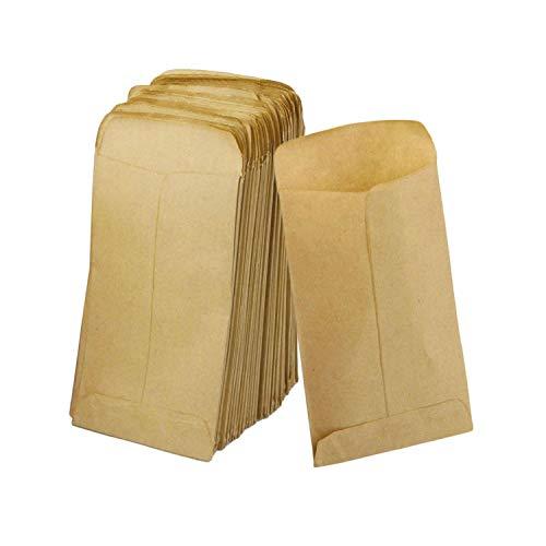 Enveloppen, kraftpapier, 12 x 20 cm, 100 stuks size Beige