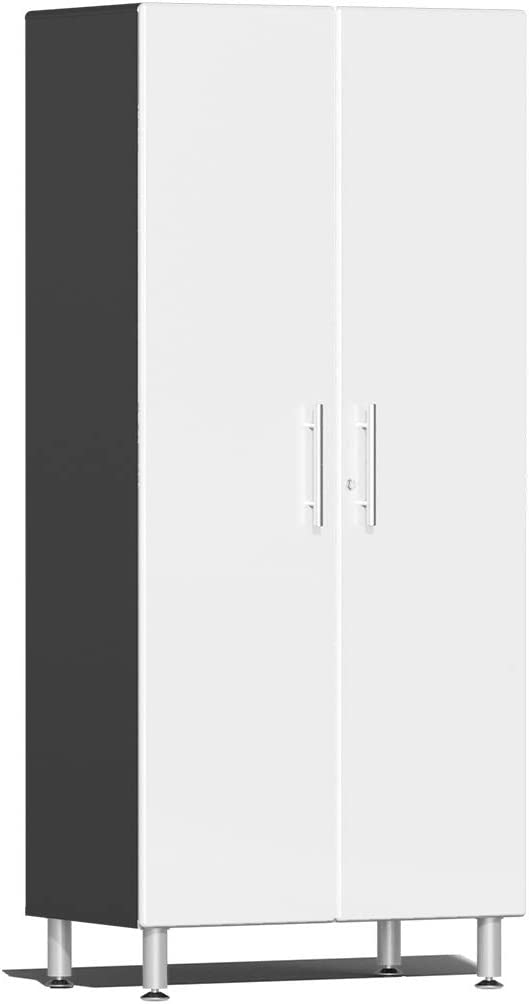 Ulti-MATE UG21006W 2-Door New life Tall Garage in Portland Mall White Cabinet Starfire