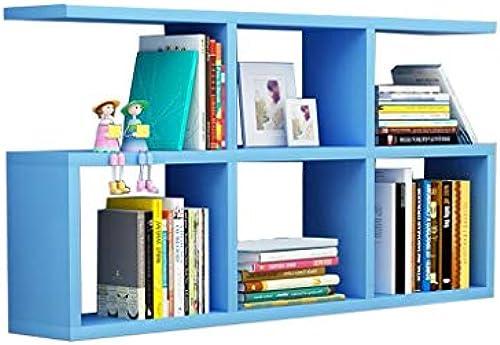 Wohnzimmer Schlafzimmer Küche Retro Dekorative Wandbehang Display Rack Home Storage Floating Regal Massivholz Wandrahmen [Vier Farben Optional] (Farbe   C)