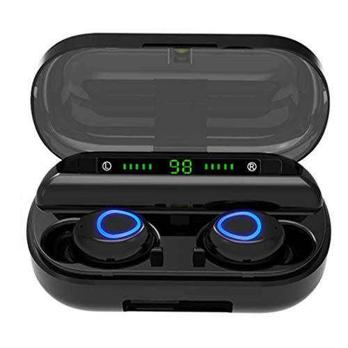 fercisi Wireless Earbuds Touch Control with Charging Case,Bluetooth Headset for The Best True Wireless Calls and Music Experience