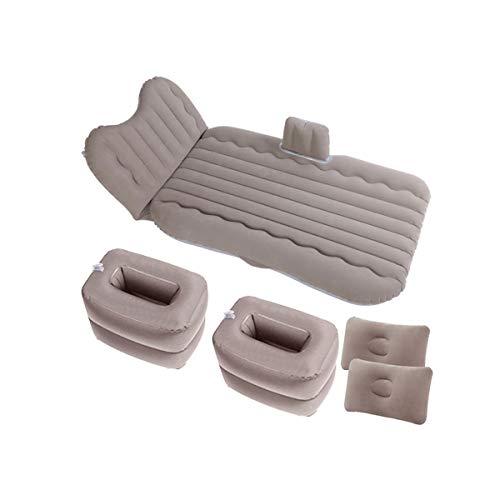 LXUXZ Auto Coche Colchón De Aire Inflable Cama ,para Asiento Trasero De Coches (Color : Gray, Size : 135x80cm)