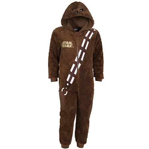 Disney Star Wars Chewbacca Ganzkörper Schlafanzug Einteiler Pyjama Strampelanzug - 3-4 Jahre 104 cm