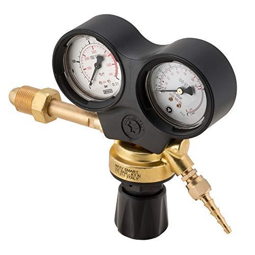 RIDUTTO ARGON koppelingsmassa GAS ARGON/MIX / CO2 tot 300 bar en in het gebruik van maximaal 4 bar monometer hoge compressie & compressie met de Cuffia