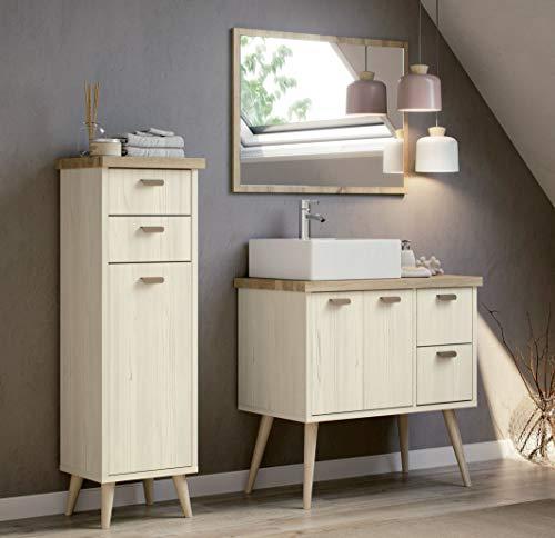 Miroytengo Conjunto mobiliario baño Vintage Drya Muebles
